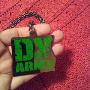 DX Army World Wrestling Necklace